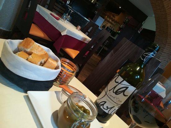 Atienza, España: aperitivo