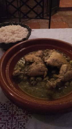 Riad Dar Nimbus: tajine poulet citron