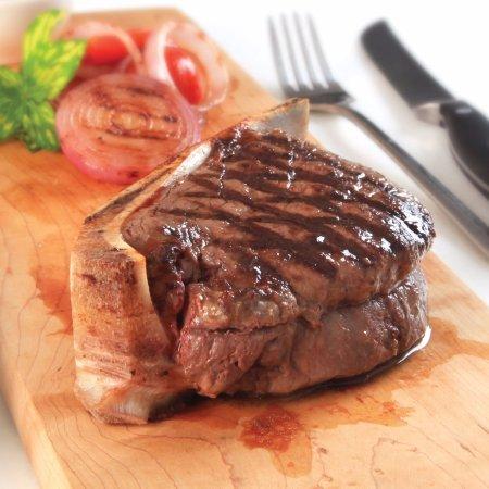 Долгеллау, UK: Fillet Steak on the Bone 10oz