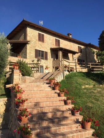 Província de Perúgia, Itália: SAN FEDELE panoramico