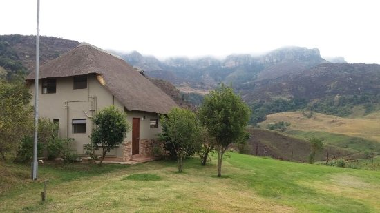 Bergville, Afrika Selatan: View of Chalet 2 from different angle