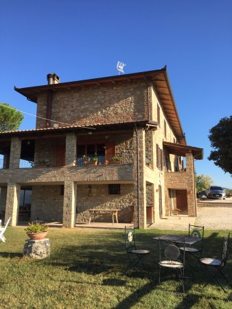 Province of Perugia, Italien: SAN FEDELE giardino