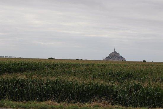 Huisnes sur Mer, Francia: Salzwiesen vor dem Monte