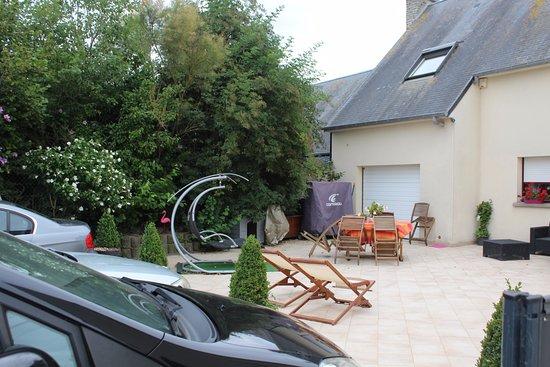 Huisnes sur Mer, Francja: Parken und Garten