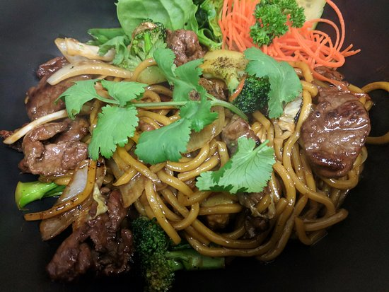Burnie, Australia: Beef with Hokkien Noodle Stir-fried