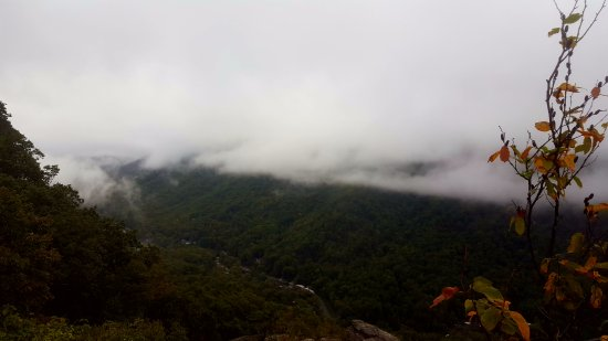 Chimney Rock, NC: Just give the clouds time to move