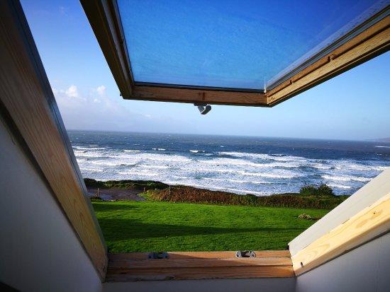 Inch, Irland: Chambre avec vue sur la mer