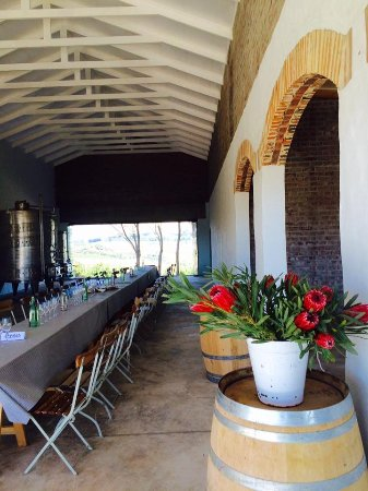 Elgin, Sudáfrica: Cellar for private events at Oneiric