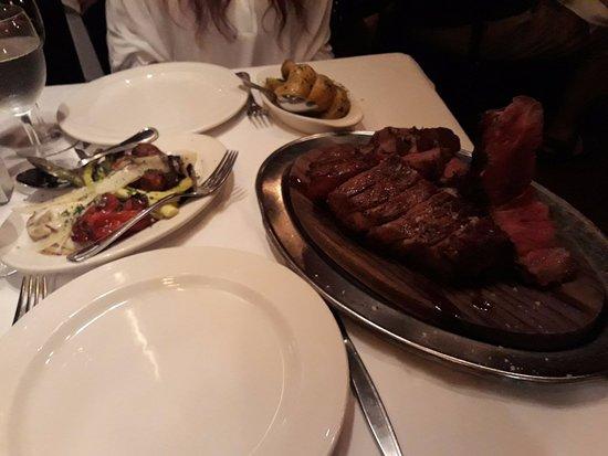 Keens Steakhouse: PRIME PORTEHOUSE E CONTORNI