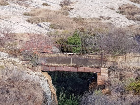 Fouriesburg, South Africa: bridge on the 4x4 route