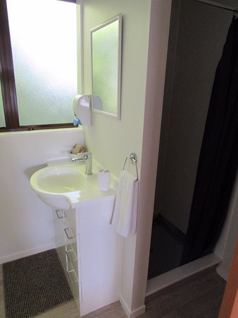 Carterton, Nueva Zelanda: Studio Unit bathroom
