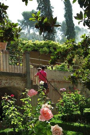 La Alhambra: Верхние сады Генералифе, Альгамибра.