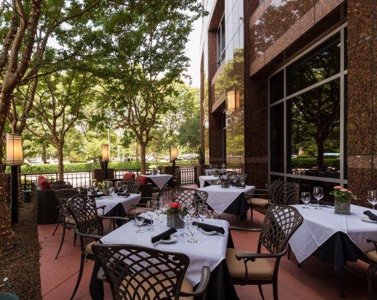 Ruth's Chris Steak House: Enjoy a meal on our patio