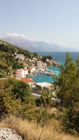 Mimice, Kroatien: Desde el balcón de la habitación