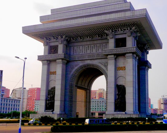Triumphal Arch: L'arc de triomphe de Kim II-sung