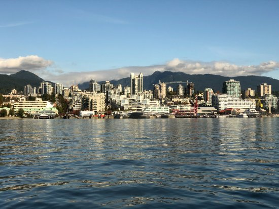 North Vancouver, Canadá: Sea Bus to Lonsdale Quay
