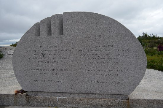 Swissair Flight 111 Memorial at Peggy's Cove