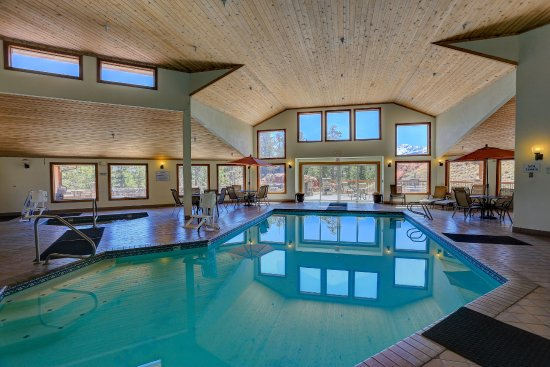 Woodland Park, CO: Great pool.  Fun for guests of all ages