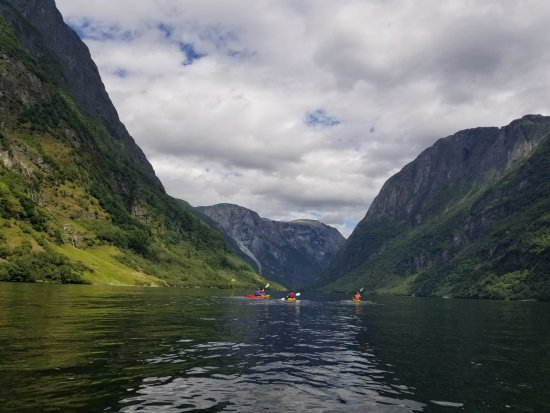 Voss, Norge: view of Naerfjord