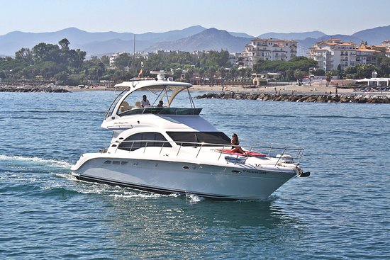 Puerto Banus, Spain: Rent this Sea Ray 525 Sedan Bridge and spend a wonderful day at sea