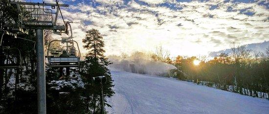 Massanutten, VA: Ski Lift View, Winter