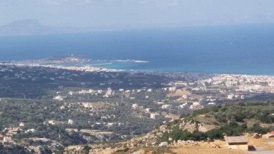 Μαρουλάς, Ελλάδα: View from taverna over Rethymnon