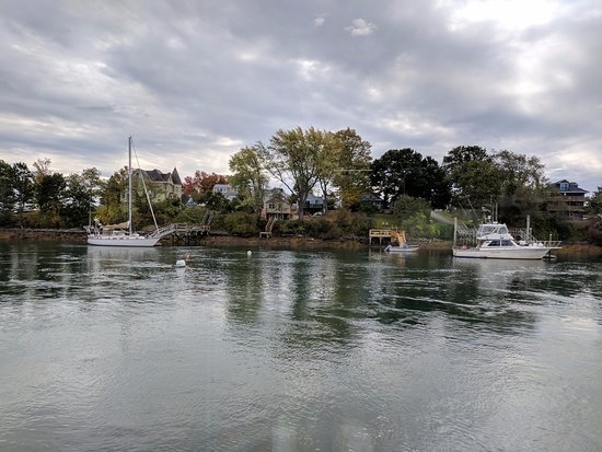Kittery, ME: View from a window table