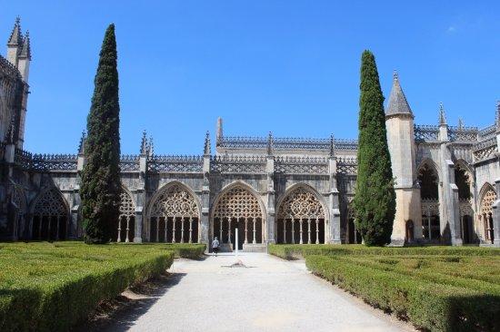 Batalha Monastery: wewnętrzny dziedziniec