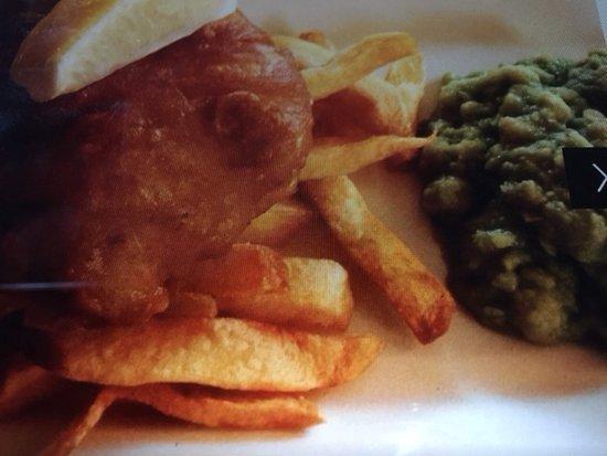Watchet, UK: Fish & chips