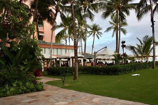 The Royal Hawaiian, a Luxury Collection Resort: Blick auf das Restaurant