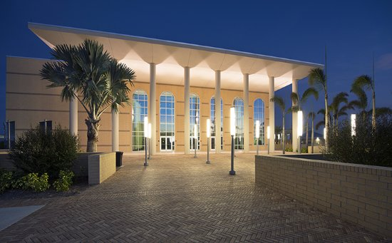 Venice, FL: The VPAC at night