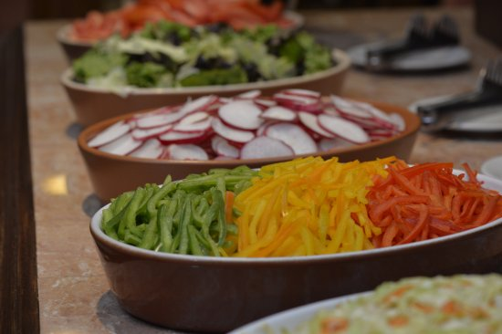 La Tranquera, Downtown, : Salad Bar.