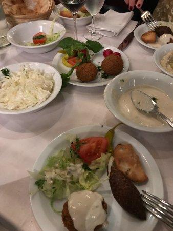 Al Barmaki: Appetizers