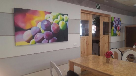 Alfaro, Spain: Exposición Uvas