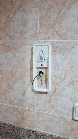 Hotel Riu Ocho Rios: Missing hair dryer