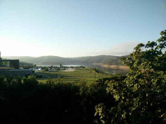 Mortagua, Portugal: Vista da varanda do 607C