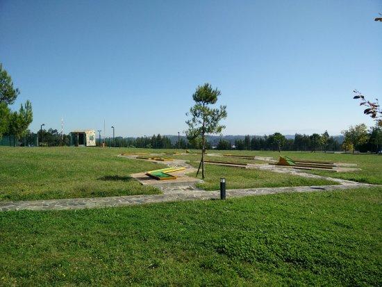 Mortagua, Portugal: Minigolfe