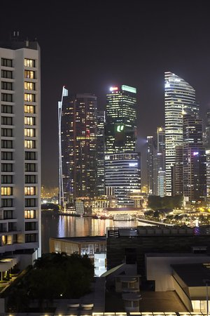 Pan Pacific Singapore: view from the room