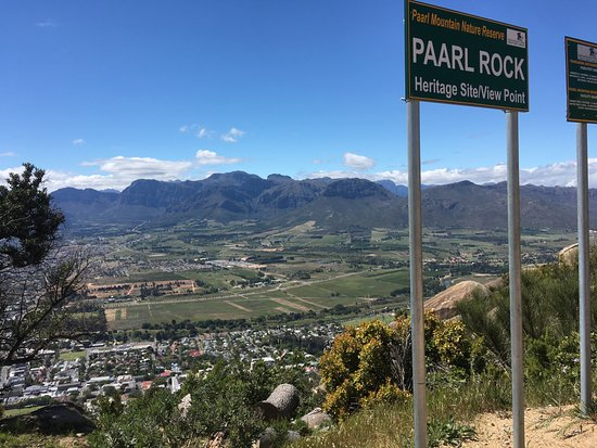 Paarl, South Africa: the sign says it