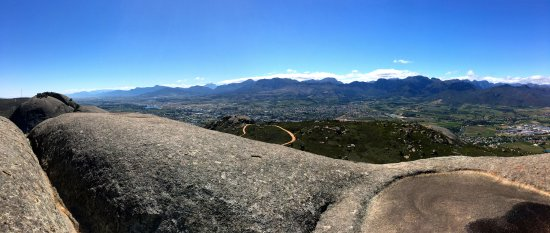 Paarl, South Africa: eastern panorama