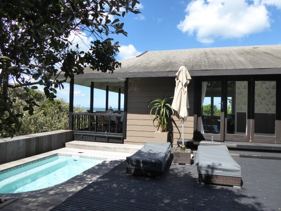 Chintsa, South Africa: Eingang zur Suite/Villa