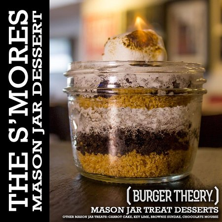 Burger Theory Nampa - Mason Jar Treats (availability subject to change)