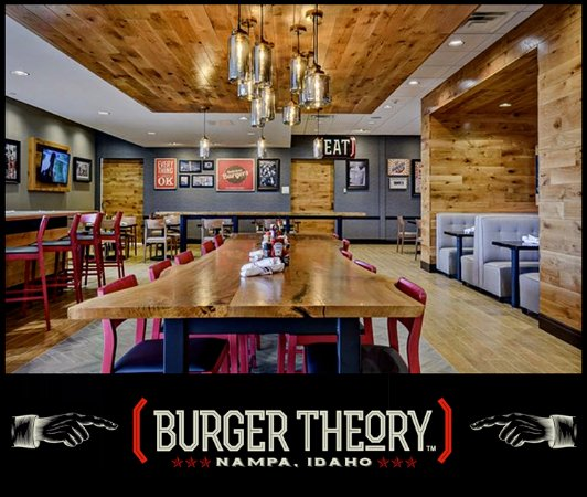 Burger Theory Nampa - Eat Great & Drink Local