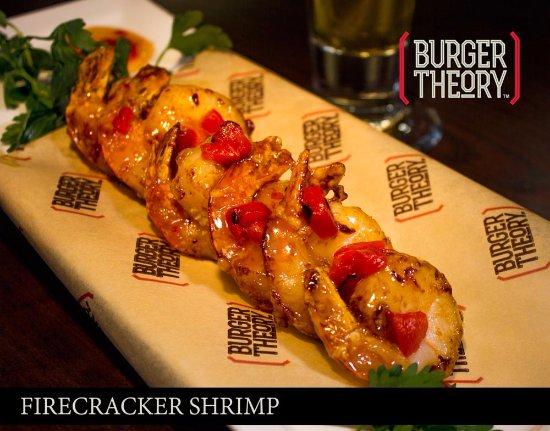 Burger Theory Nampa - Firecracker Shrimp Appetizer
