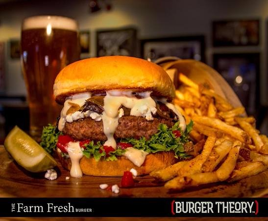 Burger Theory Nampa - The Farm Fresh Burger