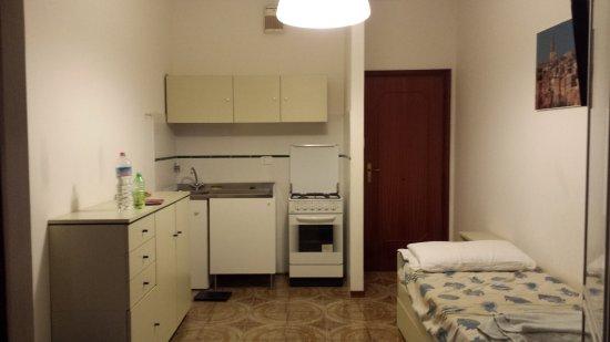 Principina a Mare, อิตาลี: sala/cucina a vista