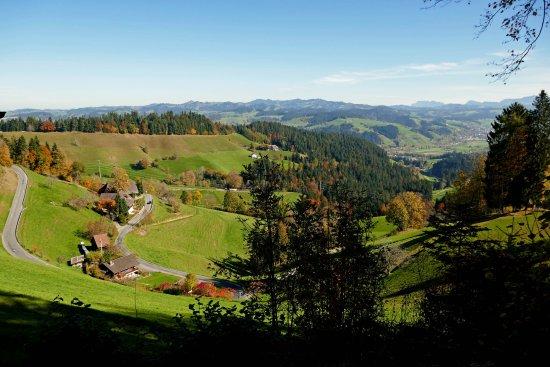 Emmenmatt, Switzerland: Panorama von der Moosegg