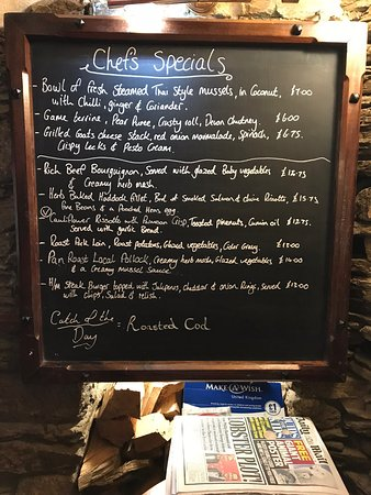 Tavistock, UK: Interesting specials