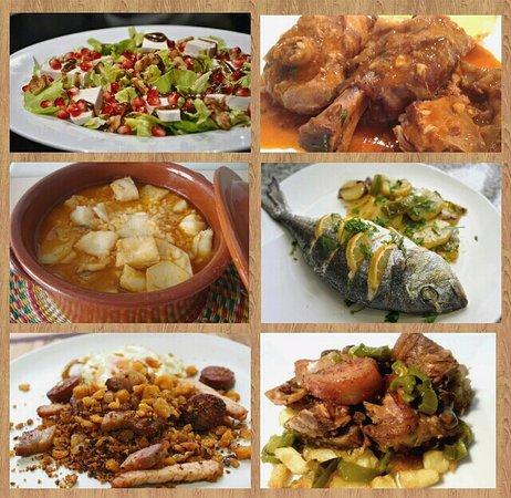 Malpartida de Plasencia, Spain: Algunos ejemplos de nuestros platos