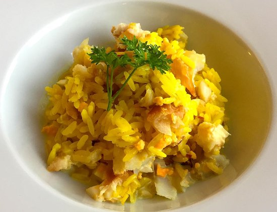 Greystones: Kedgeree. Mmmm...